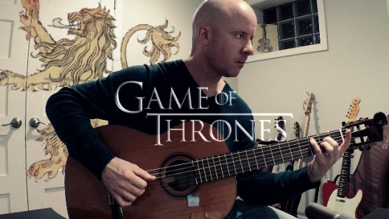 A Lannister Always Pays His Debts - for classical guitar