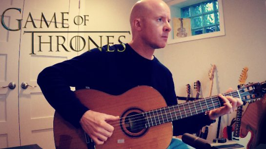 Game of Thrones: The Long Night (end credits) for guitar