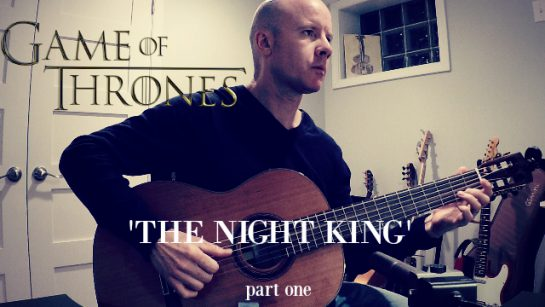 Game of Thrones: The Night King (part one) for guitar