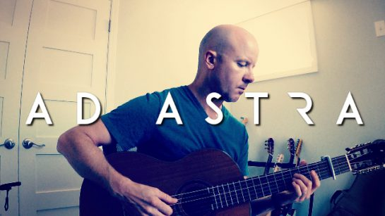 Ad Astra: To the Stars (Max Richter) fingerstyle guitar