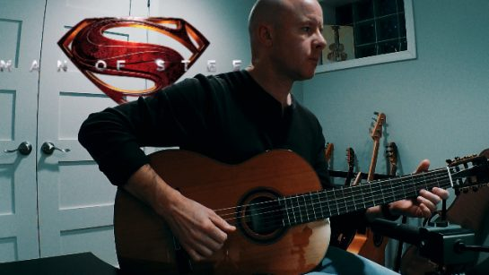 Hans Zimmer: Man of Steel | fingerstyle guitar