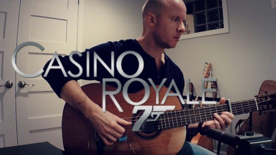 Casino Royale | fingerstyle guitar + TAB