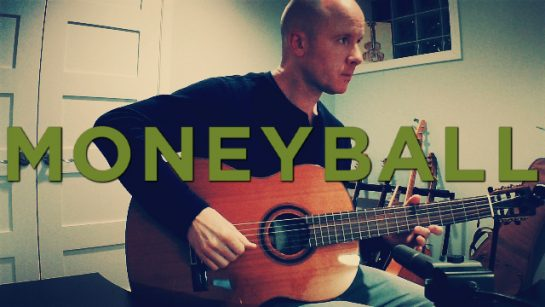 Moneyball: It's a Process | fingerstyle guitar + TAB