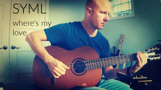 SYML: Where's My Love | fingerstyle guitar + TAB