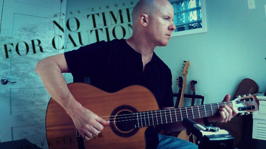 Hans Zimmer: No Time for Caution | fingerstyle guitar