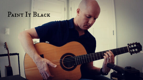 Paint It Black | fingerstyle guitar