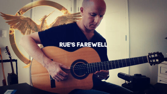 The Hunger Games: Rue's Farewell | fingerstyle guitar