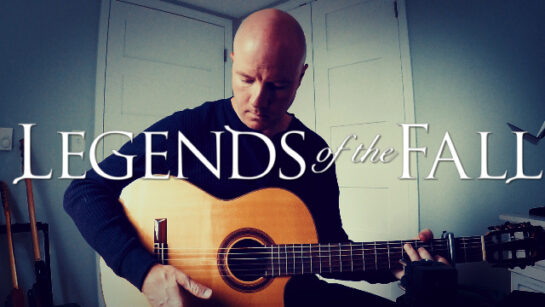 Legends of the Fall: The Ludlows | fingerstyle guitar