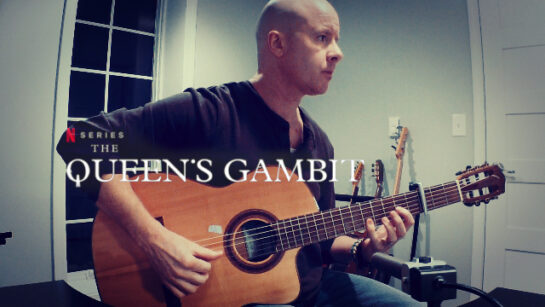 The Queen's Gambit: Beth's Story | fingerstyle guitar