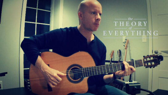 Johann Johannsson: The Theory of Everything | fingerstyle guitar