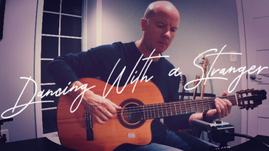 Sam Smith: Dancing With a Stranger | fingerstyle guitar