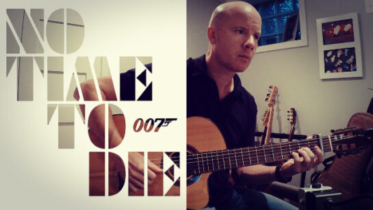 Hans Zimmer: Matera (No Time To Die) fingerstyle guitar